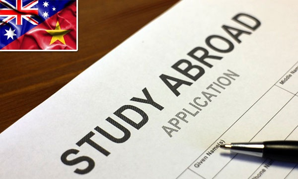 hồ sơ du học úc gồm những gì, các bước làm hồ sơ du học úc, các loại visa du học úc, phí xin visa du học úc