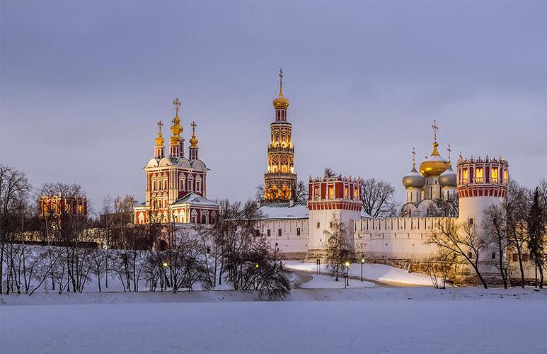 Khí hậu ở Nga rất lạnh