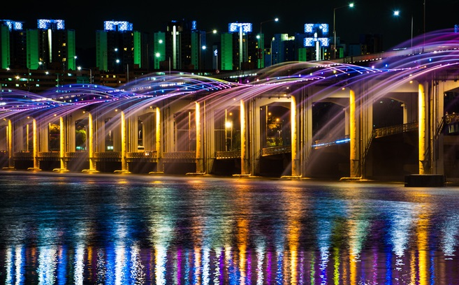 Cầu Banpo Hàn Quốc