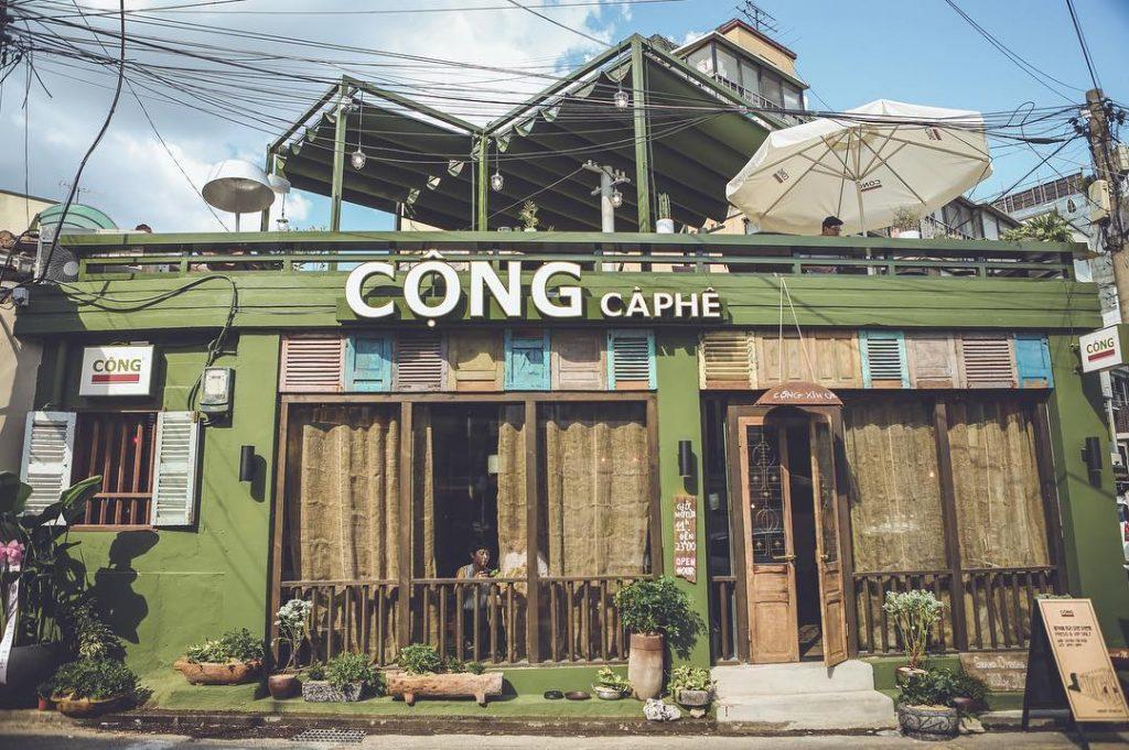 Quán Cộng cà phê tại Seoul, Hàn Quốc