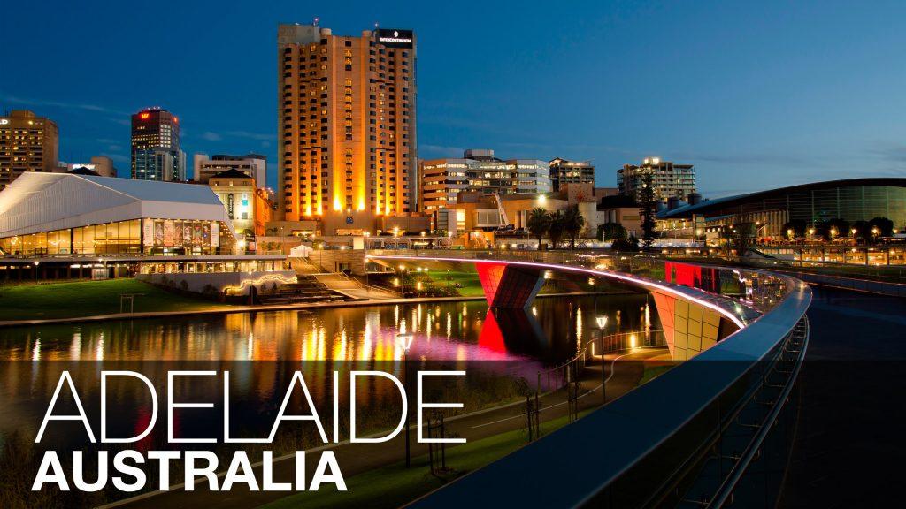 Thành phố Adelaide ở Úc